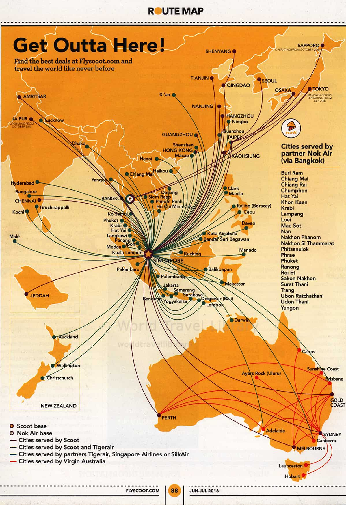 Singapore Airlines, Silkair, Scoot | World Travel Library